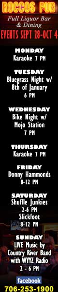 Rocco's Pub Upcoming Events