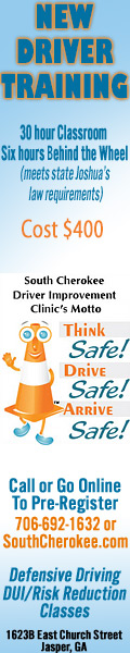 New Driver Training at South Cherokee / Jasper Driver Improvement Clinic