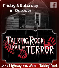 Talking Rock Trail of Terror