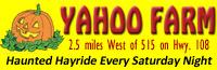Yahoo Farm Haunted Hayride