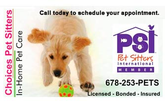 Linda Ross, Manager of Choices Pet Sitters, Earns the Pet Sitters International Certificate in Professional Pet Sitting