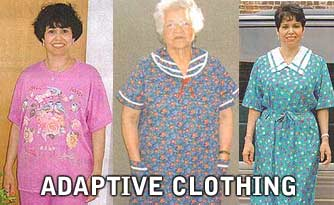 Clothes for the elderly .Dresses for